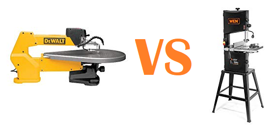 Scroll Saw vs. Band Saw: Differences Between These Tools
